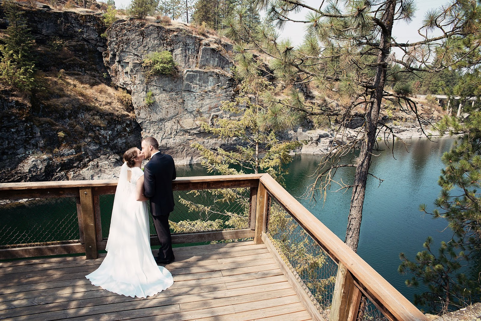 .Daren & Marta.Coeur d'Alene, ID Wedding photographer-Julie Dawn Photography