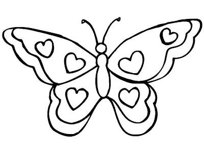 La Chachipedia Mariposas Para Colorear Para Imprimir Y
