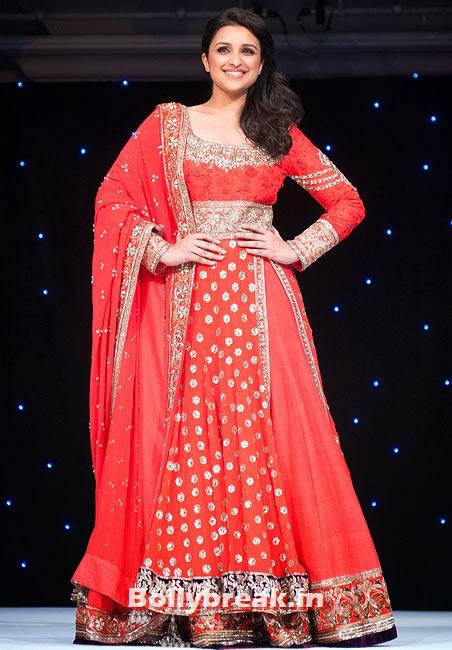 Parineeti Chopra, Who Looks the Hottest in Red Party Dress