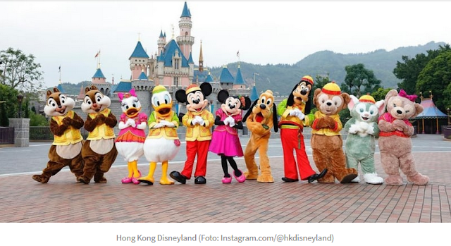 3 Fasilitas Muslim Friendly Hong Kong Disneyland untuk Turis Indonesia