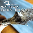Painting Faux Barnwood {{A Tutorial}}