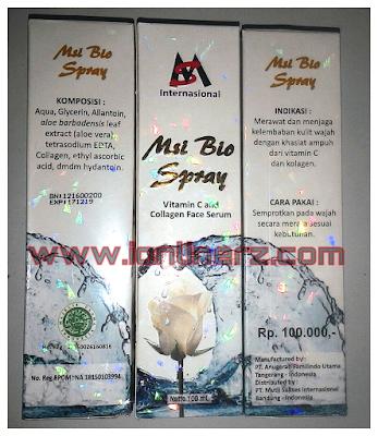 MSI Bio Spray / Bio COllagen