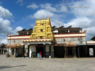 Sharada Temple at the Sringeri Adi shankacharya math in Karnataka