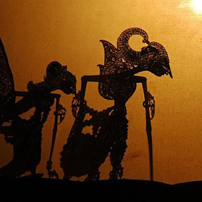 Wayang Kulit, Akulturasi Kebudayaan Nusantara dan Hindu Budha