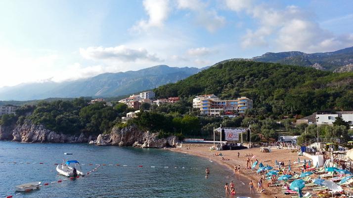 Пляж Пржно, Черногория