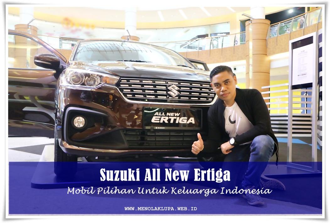 Suzuki All New Ertiga Mobil yang bagus Untuk Keluarga Indonesia