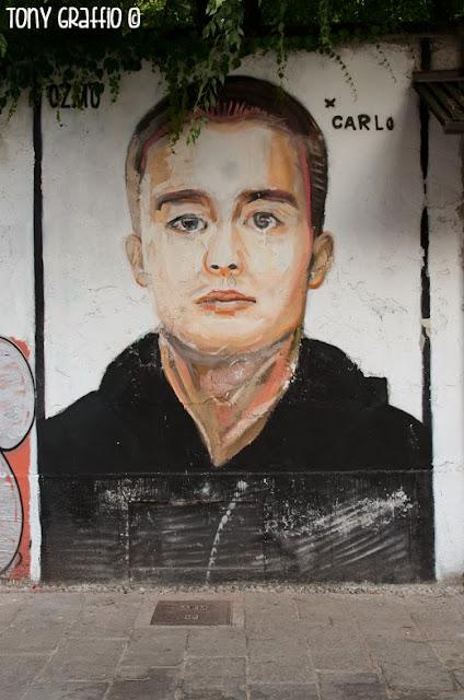 Graffito Carlo Giuliani