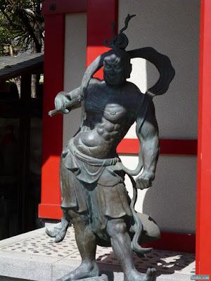 国分寺吽像