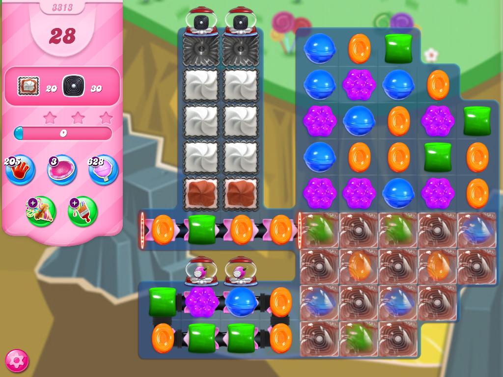 Candy Crush Saga level 3313
