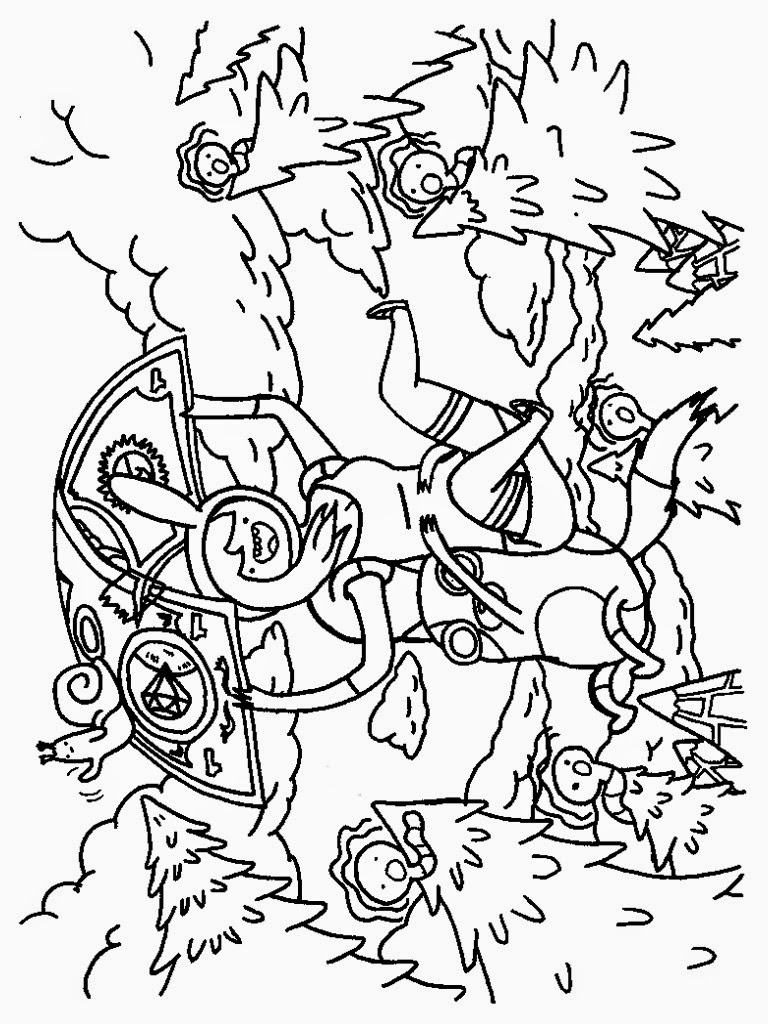 time coloring pages for kids printable