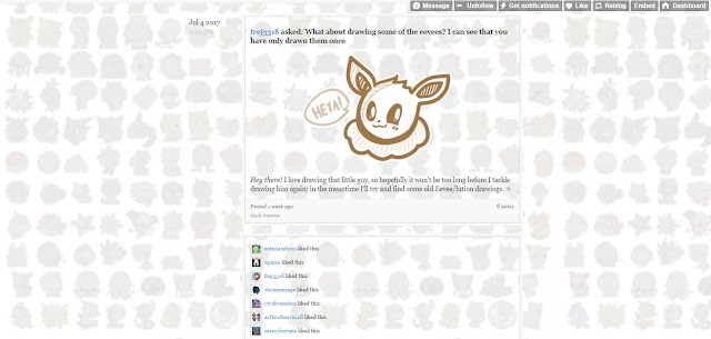 16 Pokemon Tumblrs You Should Be Following If You Love Pokemon! Steve over 600 eevee fan art