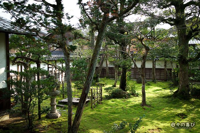 vue jardin maison inaba