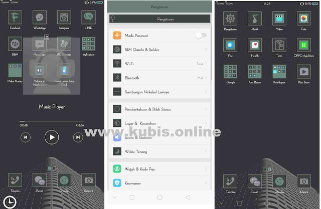 """Tema Oppo """"Ikeh Kimochi"""" Untuk Oppo A83, F5, A3S, A3, F7 dan Realme"""