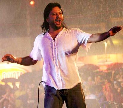 Foto de Jorge Rojas en el escenario