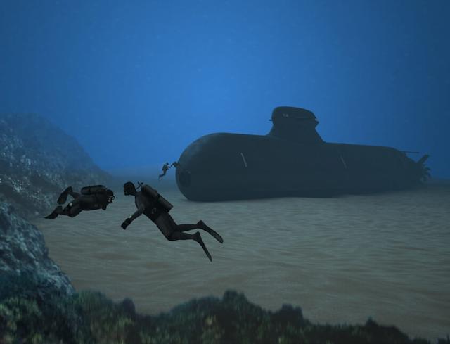 El equipo de Saab-Damen desvelan diseño de submarino para Holanda. Divers