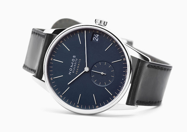 Nomos Glashütte Orion neomatik 41 date midnight blue