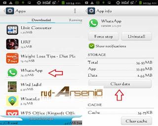 Cara Log Out Atau Keluar Dan Masuk WhatsApp Dan Line