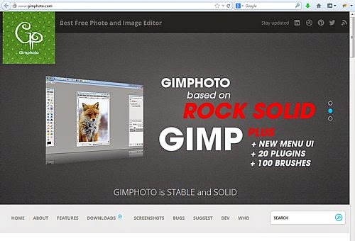 Gimphoto - Free Photoshop Alternative Download Photo Editor