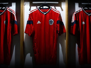 New away jersey of the Colombian Football Federation a9717481b