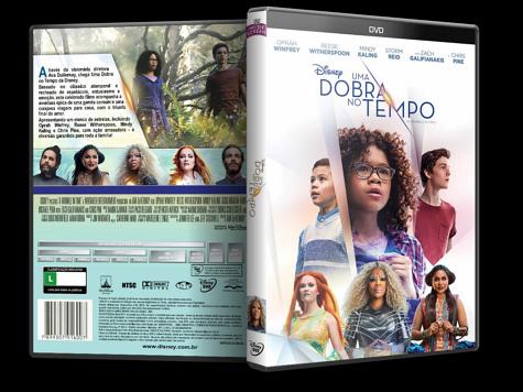 Capa DVD Uma Dobra no Tempo