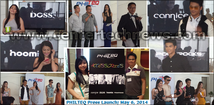 PHILTEQ Press Launch Review: New Digital Lifestyle Gadgets Available at Leading 3C Stores Nationwide May 6, 2014