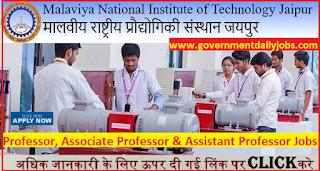 MNIT Jaipur Recruitment 2017   Apply Online For 282 Professor Jobs