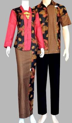 Model Kebaya Campur Batik Kombinasi Terbaru
