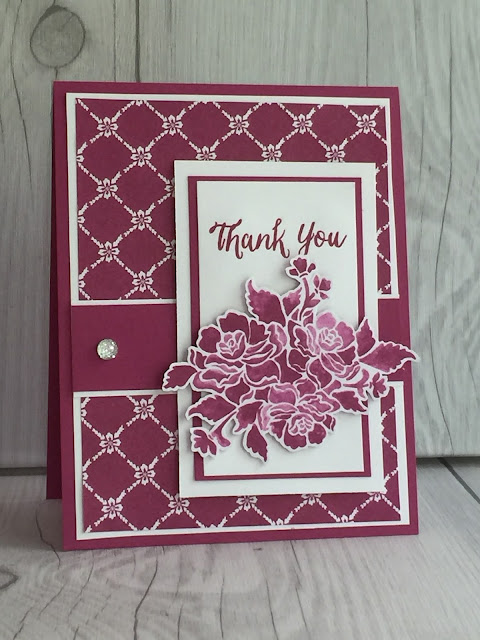 Visit my blog to see a collection of cards made with Fresh Florals