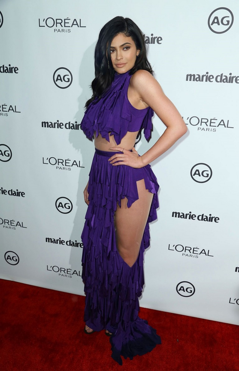 Kylie Jenner – Marie Claire's Image Maker Awards in West Hollywood