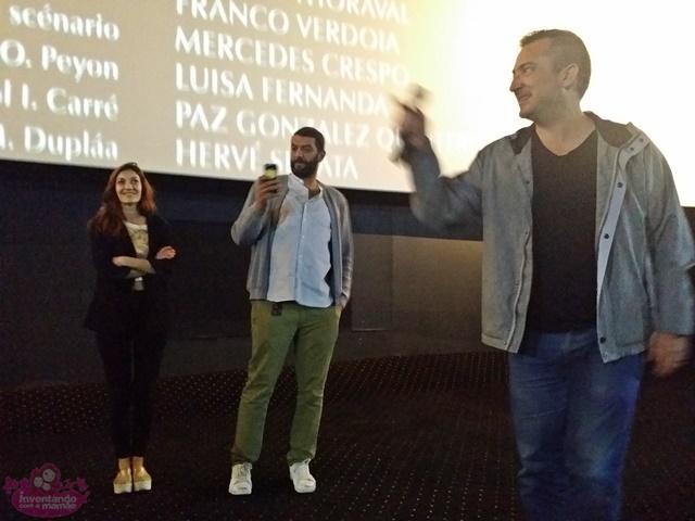 Ramzy Bedia no filme O Filho Uruguaio