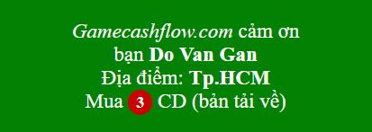 Game cashflow bản mềm 101 và 202