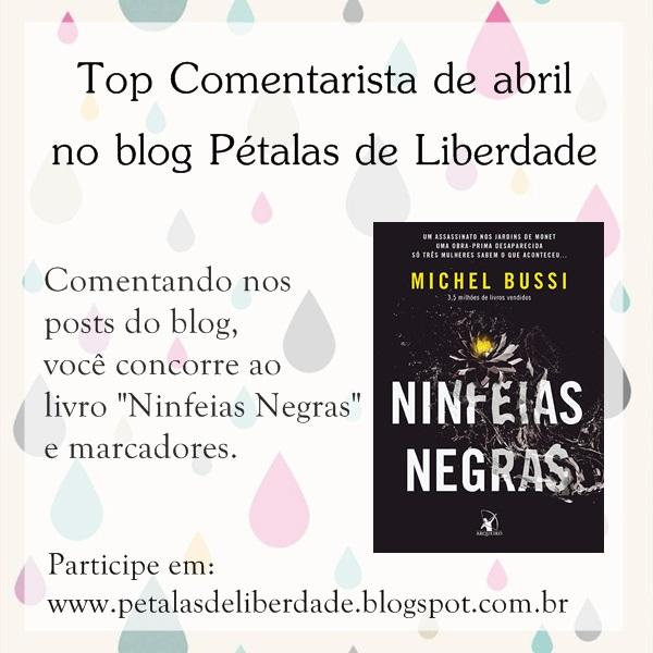 sorteio, livro, blog, marcadores, ninfeias-negras, top-comentarista