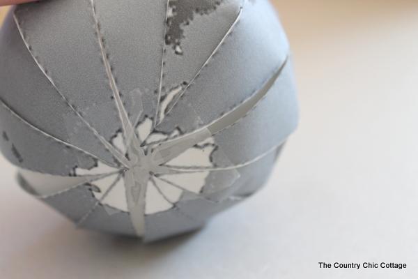 Glitter Globe Ornament Pottery Barn Knock Off The