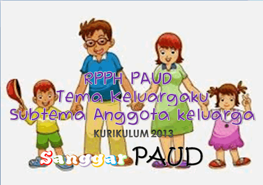 RPPH  KURIKULUM 2013 PAUD Tema Keluargaku Subtema Anggota keluarga