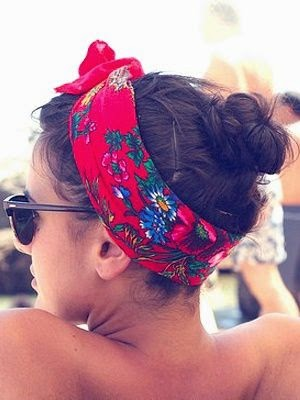 Sizzling Summer: Easy summer hair style