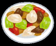 給食のイラスト(おかず)