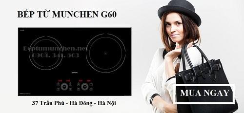 mẫu bếp từ Munchen G60