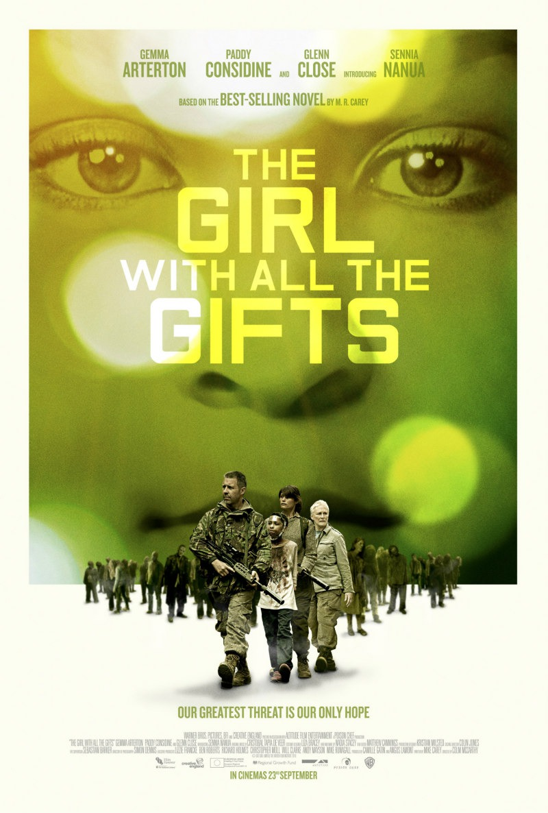Nuevo póster internacional de 'The girl with all the gifts'
