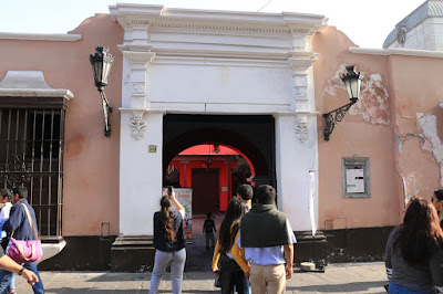 Triple A Associaton, Theaters of Lima, History of Theaters in Peru