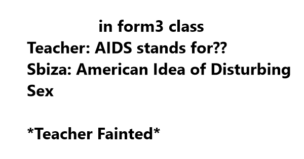 aids funny full form