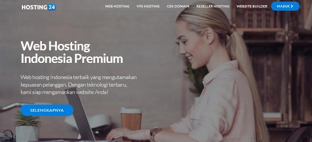 Web Hosting Indonsia Terbaru-Hosting24. Rasakan Kecepatannya!