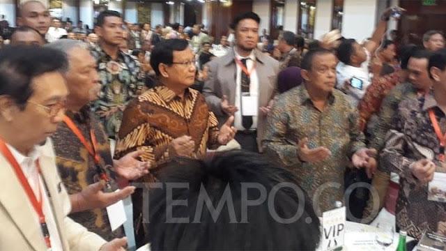Prabowo Dituduh Hoax, Djoko Santoso: Sumber Datanya Pemerintah