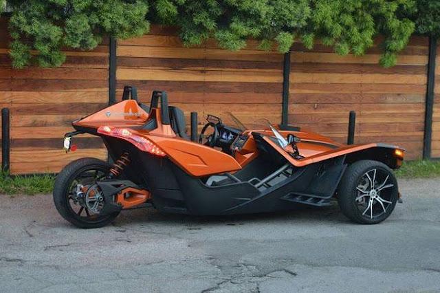 Polaris Slingshot Cheap Exotic Car Rental