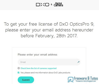 Giveaway : DxO Optics Pro 9 Elite Edition gratuit !