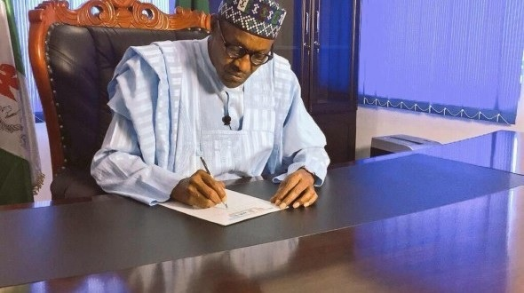BREAKING: President Buhari finally signs 2016 Budget