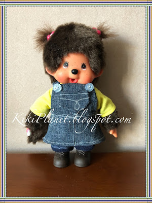 kiki monchhichi Hanaé couture vêtement poupée robe handmade fait main