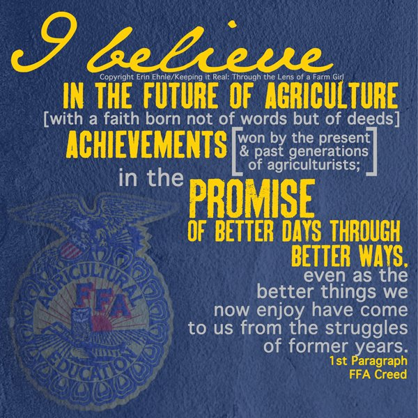 what is the ffa creed