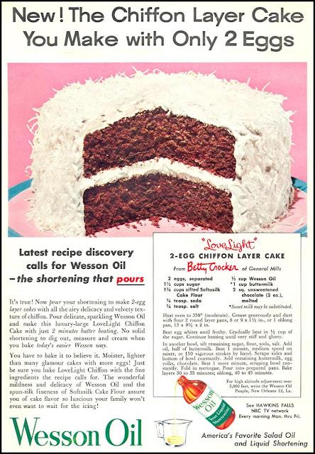 Wesson Oil Chiffon Cake Recipe