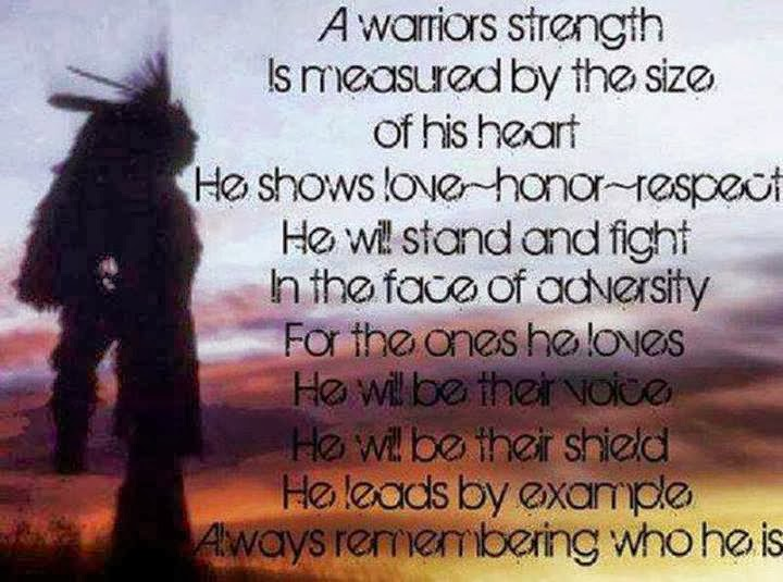 Heart Of A Warrior Quotes
