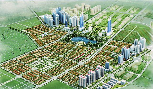 Phối cảnh khu biệt thự An Khang Villas Dương Nội